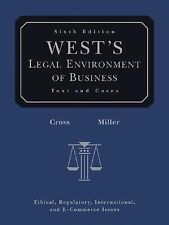 West's Legal Environment of Business: Text and Cases