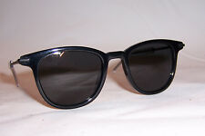 NEW DIOR HOMME BLACK TIE 195/S MZN-DC BLUE/SILVER MIRROR SUNGLASSES