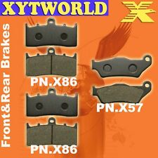 Front Rear Brake Pads BMW K1200 K 1200 R 11.2005-2010