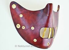 Steampunk Hannibal Lecter Mask Victorian Halloween Horror Cosplay Costume UNISEX