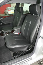 MERCEDES E-CLASS W210 BLACK CAR SEAT COVERS