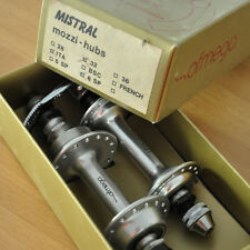 NEW NOS NIB * OFMEGA CX hubs 32h 6 speed fits on gipiemme and campagnolo rims