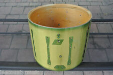 "RECOVER PROJECT? 70's LUDWIG 15"" GREEN SPARKLE DRUM for YOUR DRUM SET! LOT #L48"