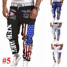 Mens Sports Training Harem Sweat Pants Tracksuit Bottoms Joggers Casual Trousers