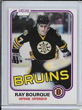 1981-82 O-Pee-Chee Ray Bourque 2nd Year # 1