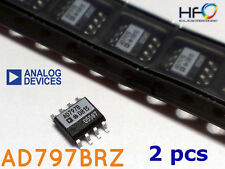 2x Analog Devices AD797 BRZ SMD ULTRA LOW NOISE Operational Amplifier for Audio
