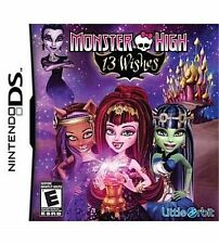 Monster High - 13 Wishes (NINTENDO DS) EXCELLENT CONDITION SHIPS NEXT DAY