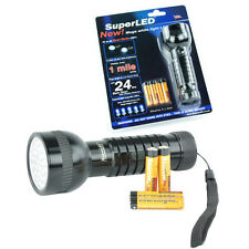 41/21 Super LED Dual Mode Torch Flashlight + Alkaline