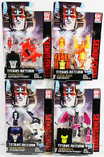 Transformers Titans Return Master Wave 03 Overboard Ptero Sawback Fangry Set NEW