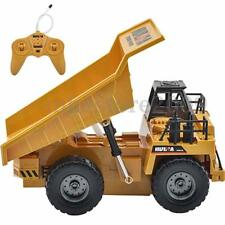 6 Channel 1/12 Electric RC Remote Control Full Functional Dump Truck Car Vehicle