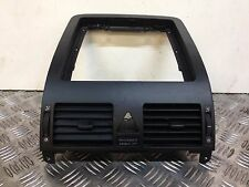 VW TOURAN 2003-10 DASHBOARD CENTER AIR VENT WITH SURROUND TRIM BLACK 1T0819728
