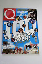 Q Magazine June 2004: Muse/Coldpaly/Keane/Graham Coxon/Avril Lavinge/Best Gigs