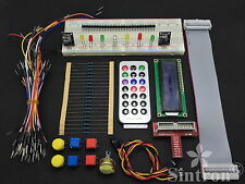 [Sintron] GPIO Starter kit for Raspberry Pi B, 1602 LCD Switch DS18B20 IR remote