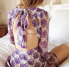 FOR LOVE & LEMONS CLOVER MINI DRESS Size M Brand new Sold Out Everywhere