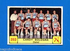 Figurina/Sticker CAMPIONI DELLO SPORT 1968/69 n. 252 - CANDY BOLOGNA -rec