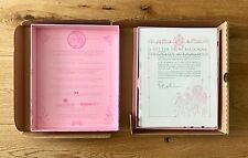 MADONNA THE ENGLISH ROSES 1ST EDITION BOXSET W/ HAND SIGNED LETTER **RARE **