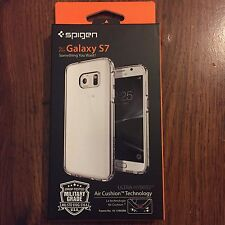 Spigen Samsung Galaxy S7 [Ultra Hybrid] Air Cushion Case [Crystal Clear]