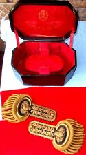 PARAGUAYAN TRIPLE ALLIANCE WAR ARGENTINIAN ARMY GENERAL EPAULETTES SHOULDER BOX