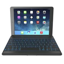ZAGG Cover with Backlit Hinged Bluetooth Keyboard for iPad Air 1 (ZKFHCBKLIT105)