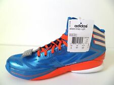 New Adidas Adizero Crazy [G59169] Basketball Bright Blue/High Energy Red Sz 8