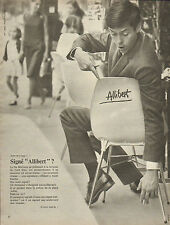 Publicité Advertising 1966  Allibert