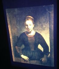 "Rembrandt ""Young Girl At Door"" Dutch Baroque Golden Age 35mm Slide"