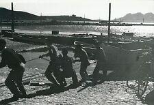 ÎLE DE MAJORQUE c. 1935 -Bateaux, Marins au Port de Pollença  Espagne - Div 6401