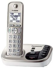 Panasonic KX-TGD220N DECT 6.0 Plus Cordless Phone System w/ Talking Caller ID