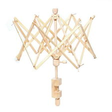 Umbrella Wooden(Birch) Swift Yarn Winder Holder