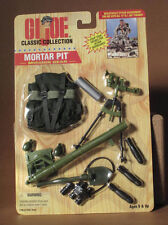 GI JOE CLASSIC COLLECTION MORTAR PIT MISSION GEAR  NIB 1996 #27851