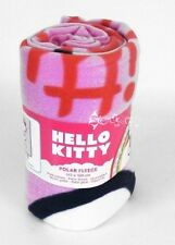 Officiel Hello Kitty rose polaire couverture lit jeter coeur