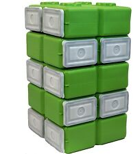 WaterBrick FoodBrick Stackable BPA Free Food Storage Container (Pack Of 10)