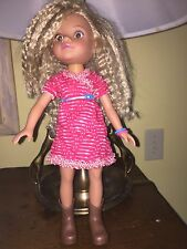 Hearts For Heats G2G Inc. Playmates Blonde Curly Hair 14 In Doll