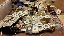 ESTATE SALE LOT! OLD US COINS!! GOLD & SILVER BULLION!! 50P