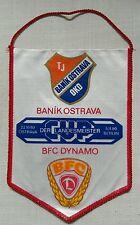 Wimpel BFC Dynamo Berlin Baník Ostrava DDR Oberliga vlajka ČSSR Česko pennant