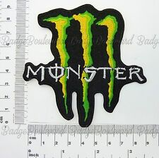 Monster Embroidered Patch