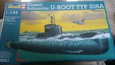 1/144 Revell U-Boat Typ 206A #05021 U-Boot Modern German Submarine NEW!