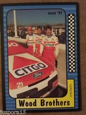 Maxx Collection Race Cards 1991 Wood Brothers (Card #159 of 240)