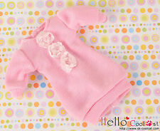 ☆╮Cool Cat╭☆285.【NK-11】Blythe Pullip Lovely Decoration Clothes#Pink(Lace Flower)