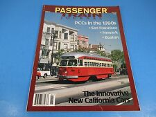 Passenger Train Journal Magazine, June 1996, PCCs in the 1990s, Issue 222