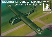 Brengun Models 1/72 BLOHM und VOSS Bv-40 German Glider Fighter