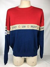 Vintage 1998 Fila France 98' World Cup - Team Sweater NWT Rare Large