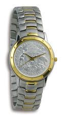 Mens Contemporay Australian Florin CoinWatch -2-Tone Florin coin dial and band