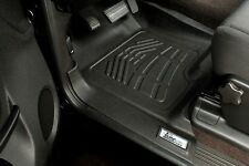 2004 - 2008 Custom Wade Floor Mats in Black Front Row Ford F150 Super Crew