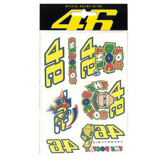 Valentino Rossi VR46 Moto GP Tattoo Set Official 2016