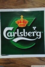 Carlsberg Aufkleber, Sticker, Folie, 33 x 33 cm
