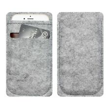 Wool Felt Belt Sleeve Case Cover For iPhone 6 Plus Samsung S6 HTC LG Sony Huawei
