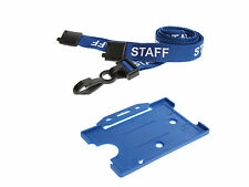 ID Card Holder and Matching Staff Neck Strap Lanyard