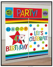 Add any Age Scene Setter Wall Decoration ~ Adult / Any Birthday Party Decoration