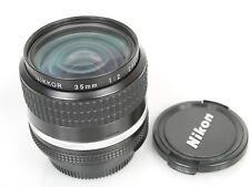 Nikon NIKKOR 2/35 AIS, ausgezeichneter Zustand, Glas Top + Deck.